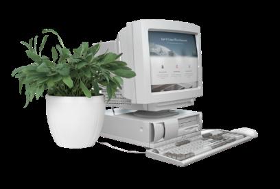 ordinateur-fleur